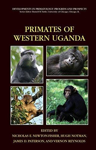 Book Cover: Primates of Western Uganda